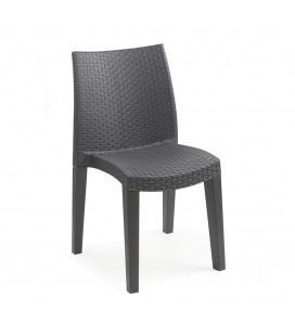 Vrtna stolica Antracit